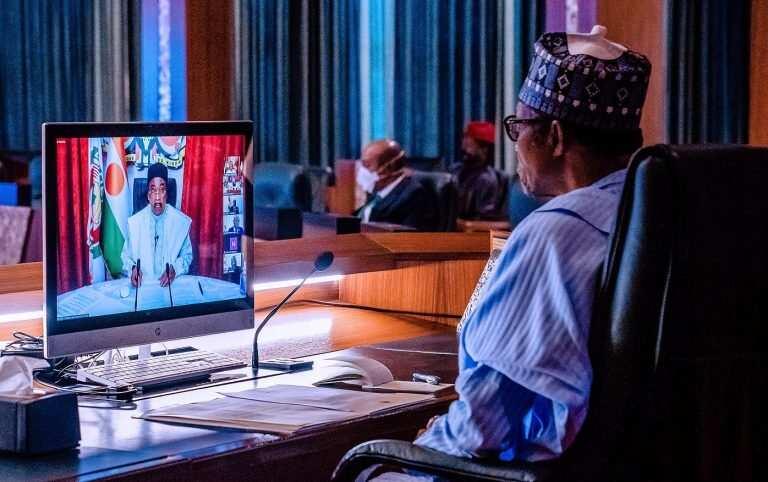 Da duminsa: Shugaba Buhari ya halarci taron ECOWAS kan rikicin Mali