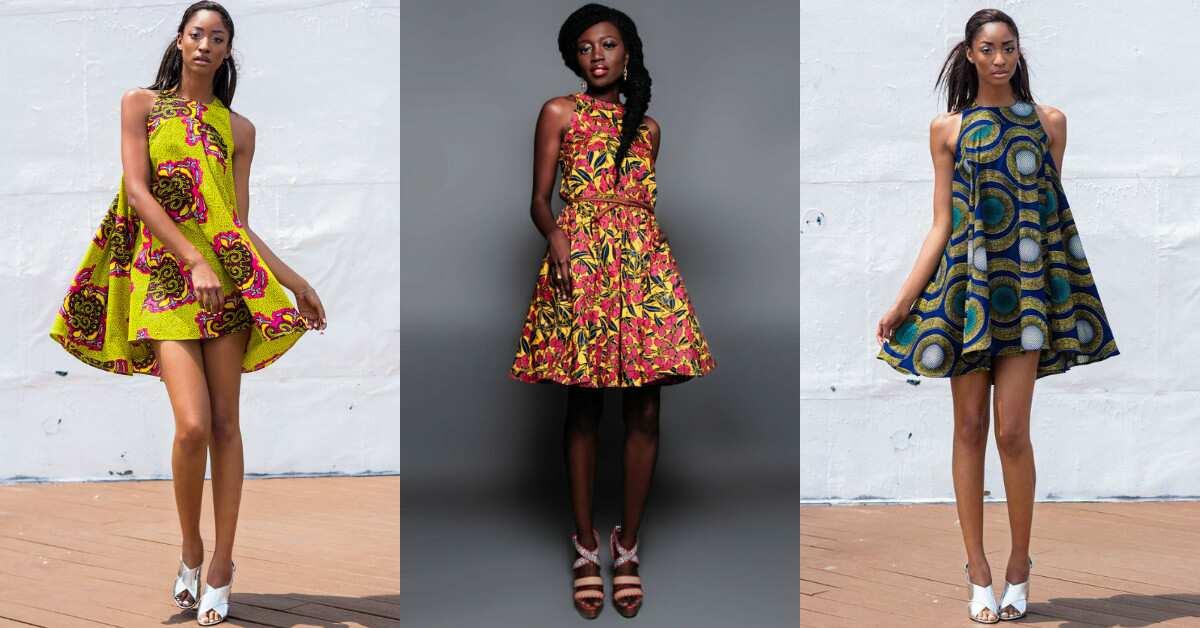 Popular A line Ankara dresses