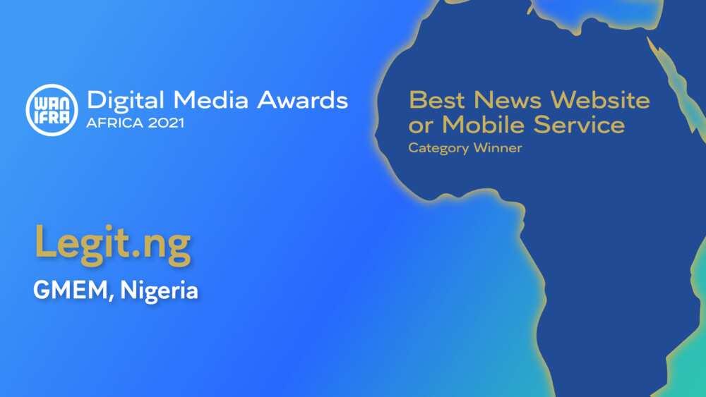 Legit.ng named best news website at 2021 Africa Digital Media Awards