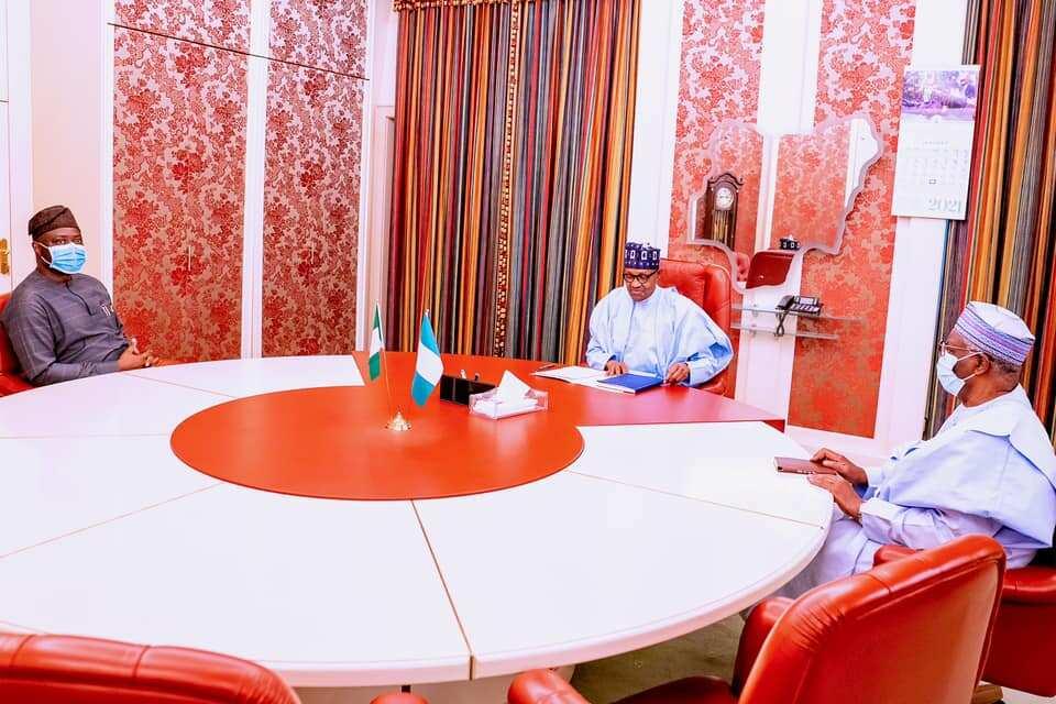 Herdsmen crisi: Buhari meets Governor Makinde in Aso Rock
