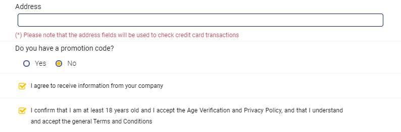 BetKing registration