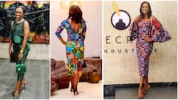 Kate Henshaw at 50: Age has nothing on Nollywood diva as she effortlessly rocks high-heel shoes in 6 photos