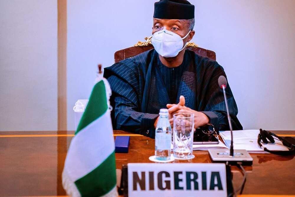 Hotuna: Osinbajo ya wakilci Buhari a taron kungiyar ECOWAS a Ghana