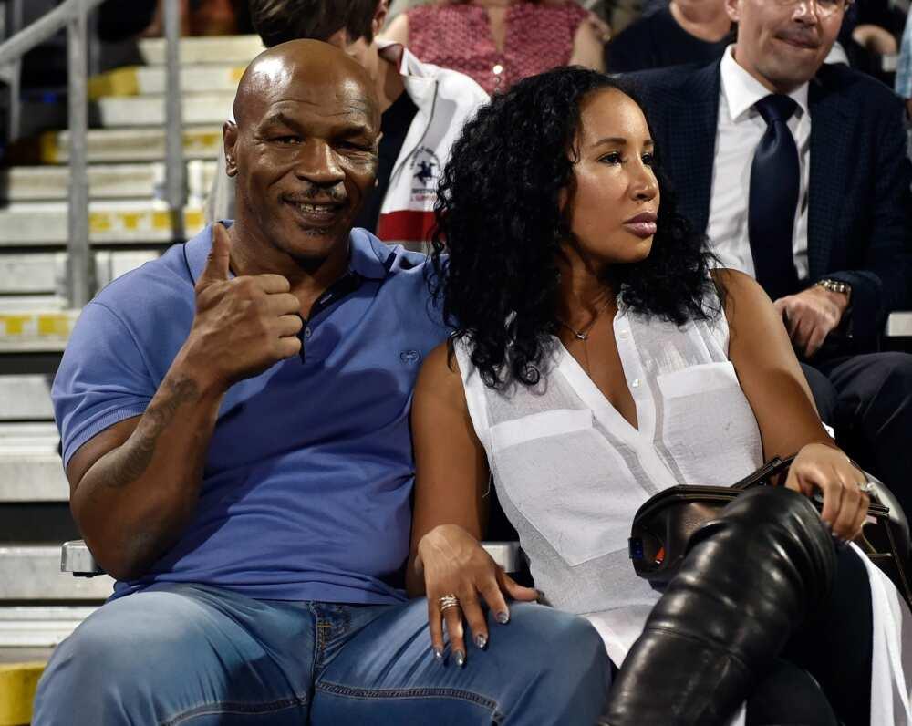 Mike Tyson's wife Lakiha Spicer