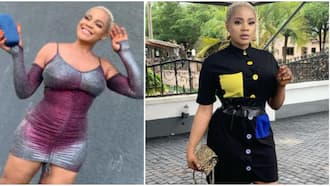 Aproko leave another person: Actress Uche Ogbodo reacts as fan asks how many figure 8 she has in new video