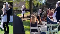 Cute moment man carried physically challenged 'bride' from entrance to the altar goes viral, clip melts hearts