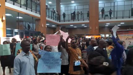 APC reacts as National Assembly workers go on strike, blames PDP