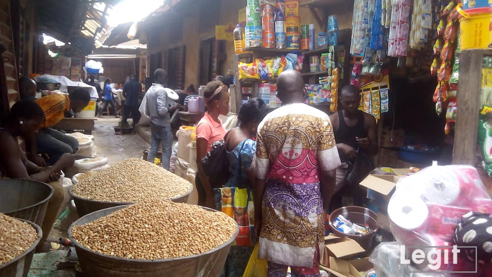 The demand for provisional item rises daily in market across the state. Photo credit: Esther Odili