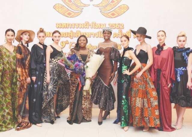 Nigerian Fashion Designer Kiki Okewale Makes History In Bangkok Legit Ng