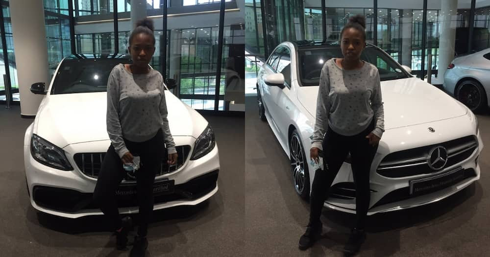 Mzansi Left with Questions After Lady Claims Her Dad Bought Her a Benz