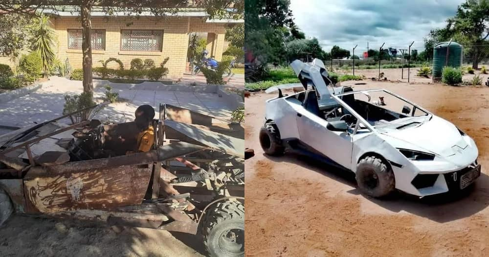 21 Year Old Limpopo Man Builds Lambo, Leaves Internet Stunned