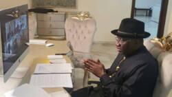 Gwamnoni, ministoci da manyan 'yan siyasa sun tafi taya Jonathan murnar zagayowar ranar haihuwarsa