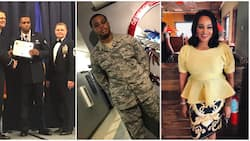 Bukky Wright gives all the glory to God as son Eniola bags degree from United States Air Force (photos)
