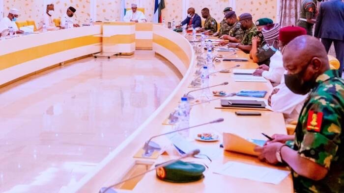 BREAKING: Buhari convenes emergency security meeting in Aso Rock