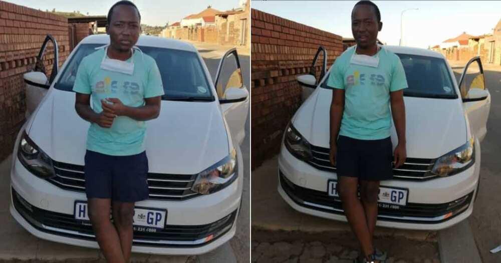 Man, 22, Celebrates Buying His First New Car, Mzansi Throws Serious Shade