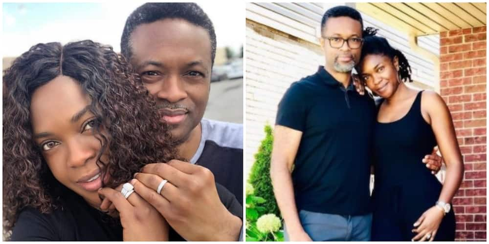Omoni Oboli shares romantic photo with hubby as she reminisces on 20 years of marriage