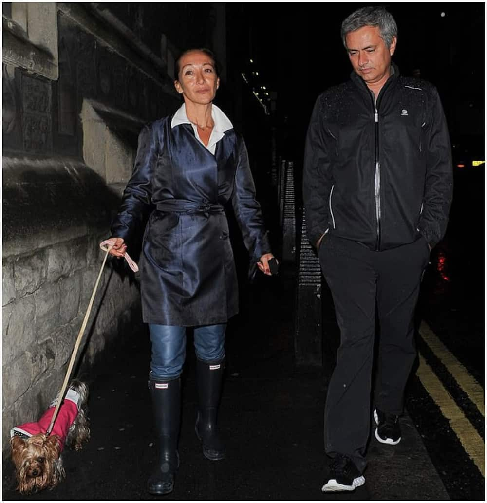 Jose Mourinho announces death his pet dog, Leya
