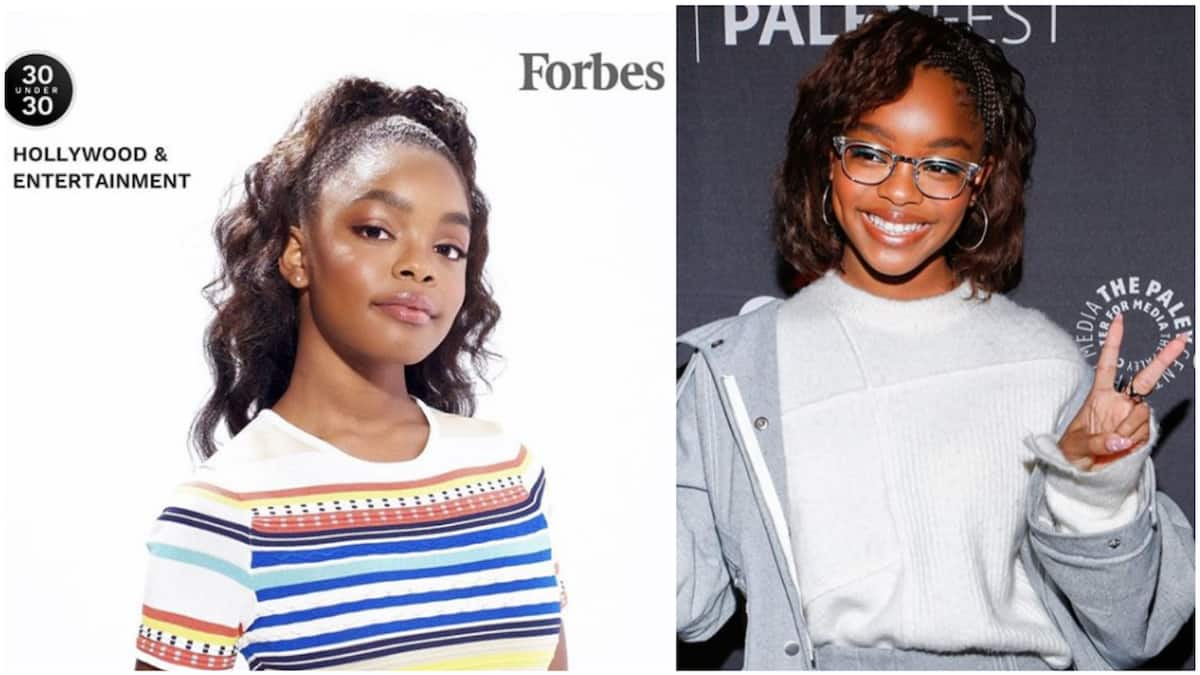 15-year-old Hollywood star Marsai Martin makes Forbes 30 Under 30 list