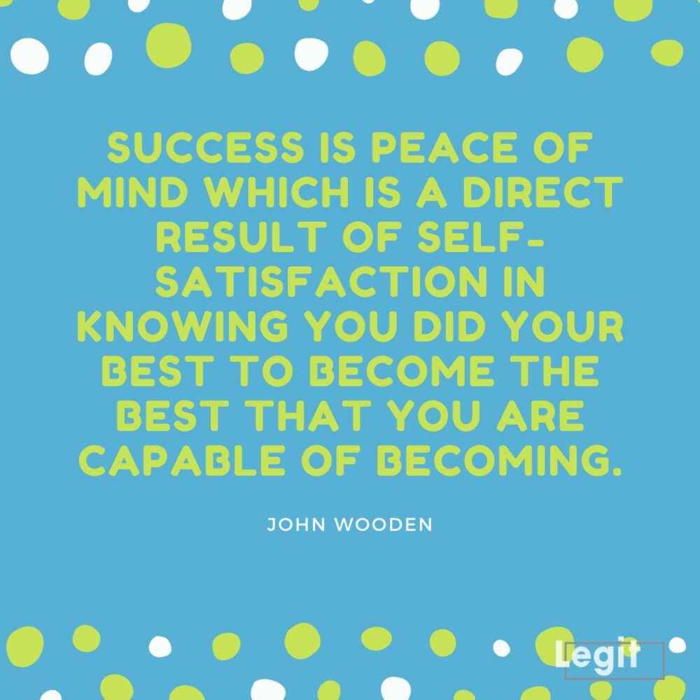 John Wooden inspirational quotes