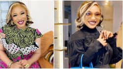 Actress Tonto Dikeh advises fans to stay away from relatives who have great dislike for their mothers