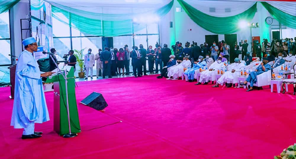 President Buhari says his government would continue to motive security personnel