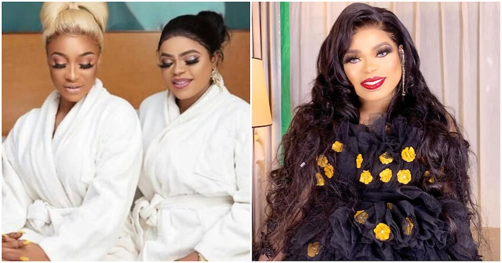 Bobrisky says best friend Tonto Dikeh is tired of him