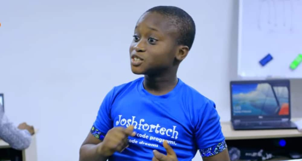 Joshua Agboola: Meet 9-year-old who developed a website for his school