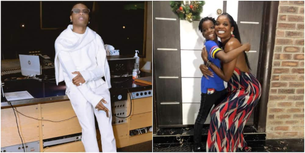 Wizkid's 1st babymama Shola Ogudu survives car crash (photos)