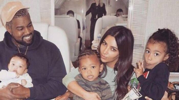 Co-parenting goals: Kim Kardashian and kids show up at Kanye West's album listening event