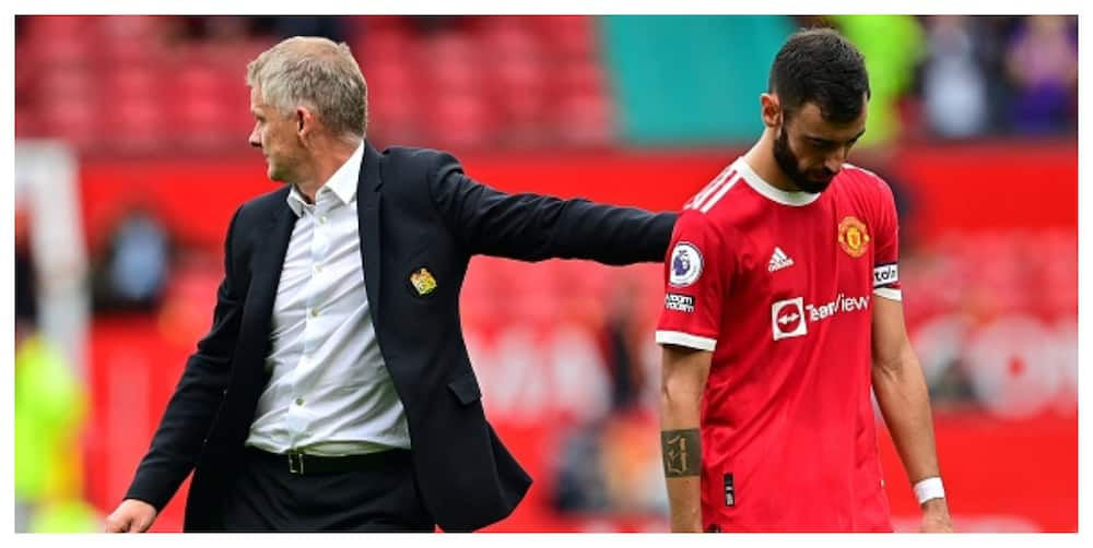 Solskjaer makes decision on who would take Man United's penalties after Fernandes' miss against Villa