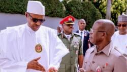 Buhari sends special birthday message to Oshiomhole as ex-APC chairman clocks 69