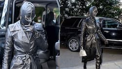 Kim Kardashian steps out covered in unconventional head-to-toe leather suit, stirs reactions