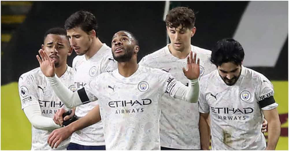 Jesus, Sterling score as Man City down Burnley to extend lead atop