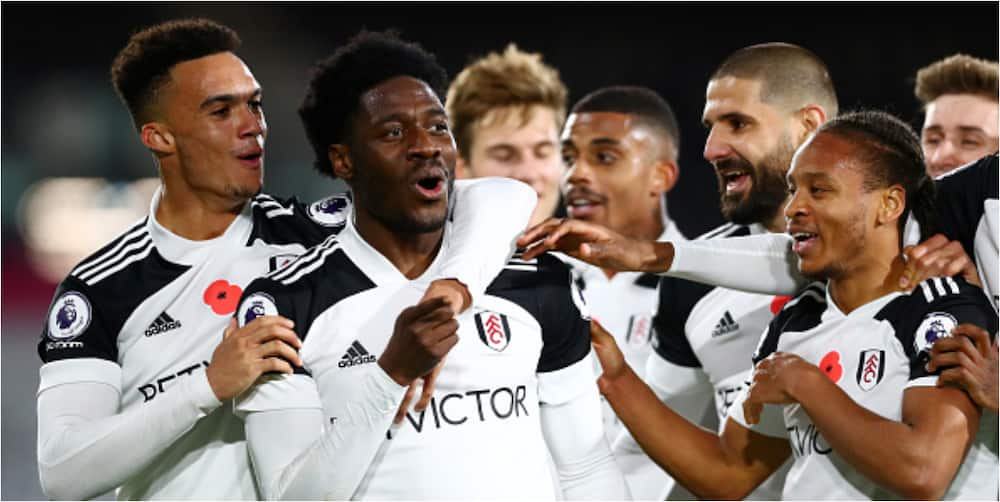 Ola Aina scores contender for best goal in Fulham's 2-0 win over WBA