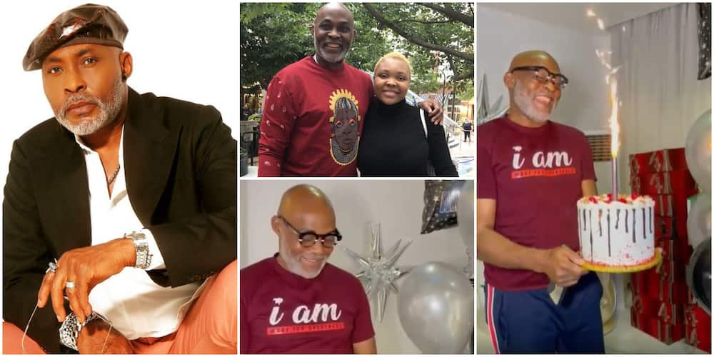 From America With Love: RMD daughter surprises him for birthday.