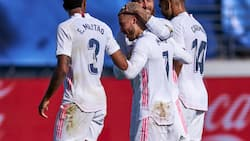 Jubilation as Hazard scores first goal for Real Madrid in 392 days (see final scoreline)