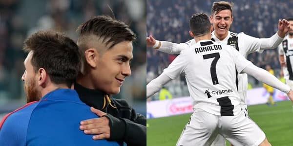 They're lucky but I can't answer who the best is - Dybala on CR7 vs Messi debate