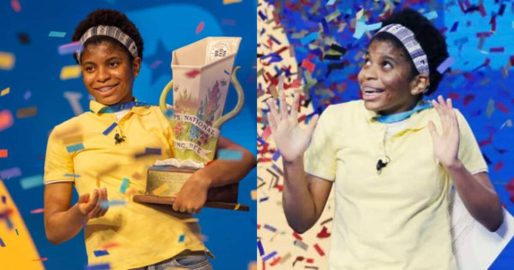 Zaila Avant-garde: 14-year-old genius becomes 1st African American to win National Spelling Bee in US