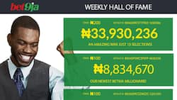 Who are the latest lucky Bet9ja winners in 2017-2018?