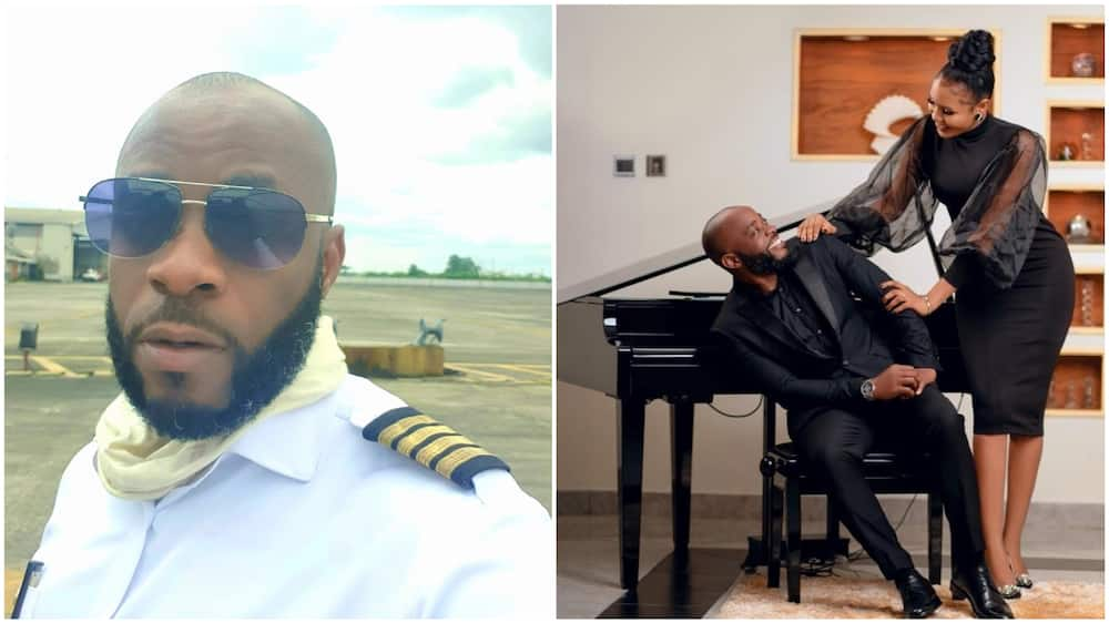 Arinze said that he met both his fiancee and prospective best man on Twitter. Photo source: Twitter/@CaptainArinze