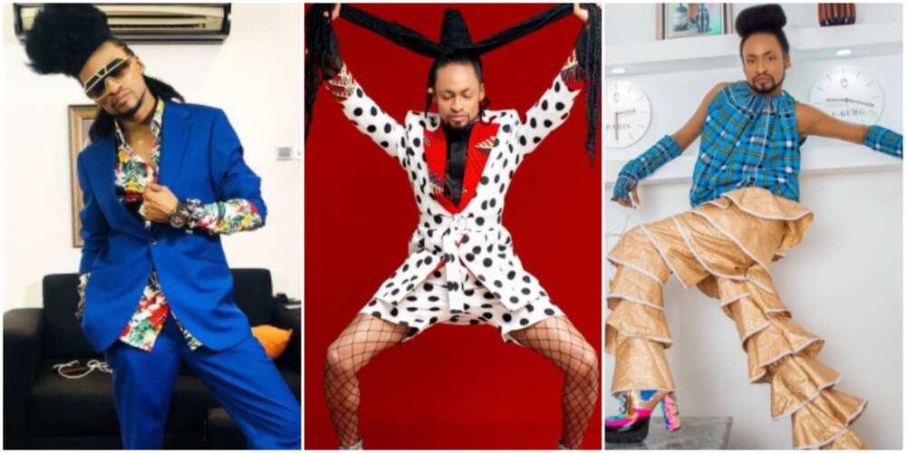 Fashion Focus: 5 Photos Showcasing Denrele Edun's Eccentric Sense of Style