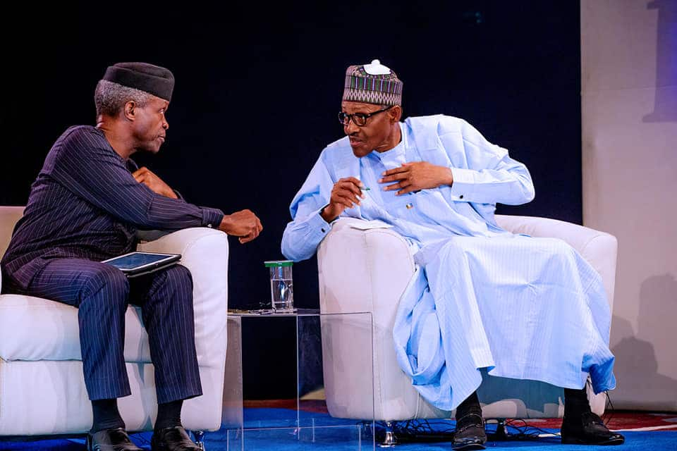 2019: Osinbajo is a great asset to Nigeria's economy recovery - Buhari