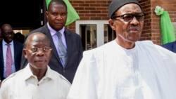 Rikicin APC: An ga Oshiomhole ya na kus-kus da Abba Kyari a fadar Shugaban kasa