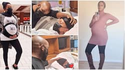 Adesua Etomi floods IG with pregnancy journey photos, spotted on the day of delivery