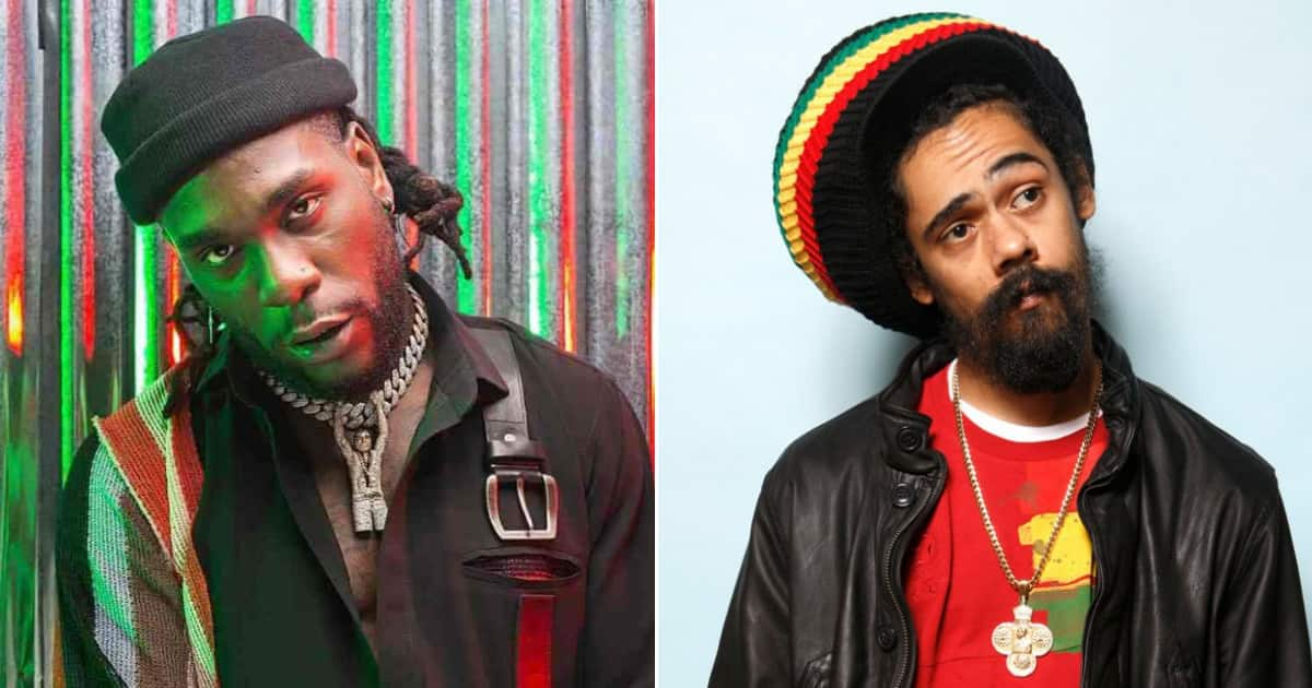 Burna Boy: Nigerians react as singer features son of Bob Marley in new album