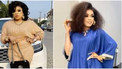 Nothing dey there: Nigerians react as Bobrisky cries out in pain after backside enlargement surgery