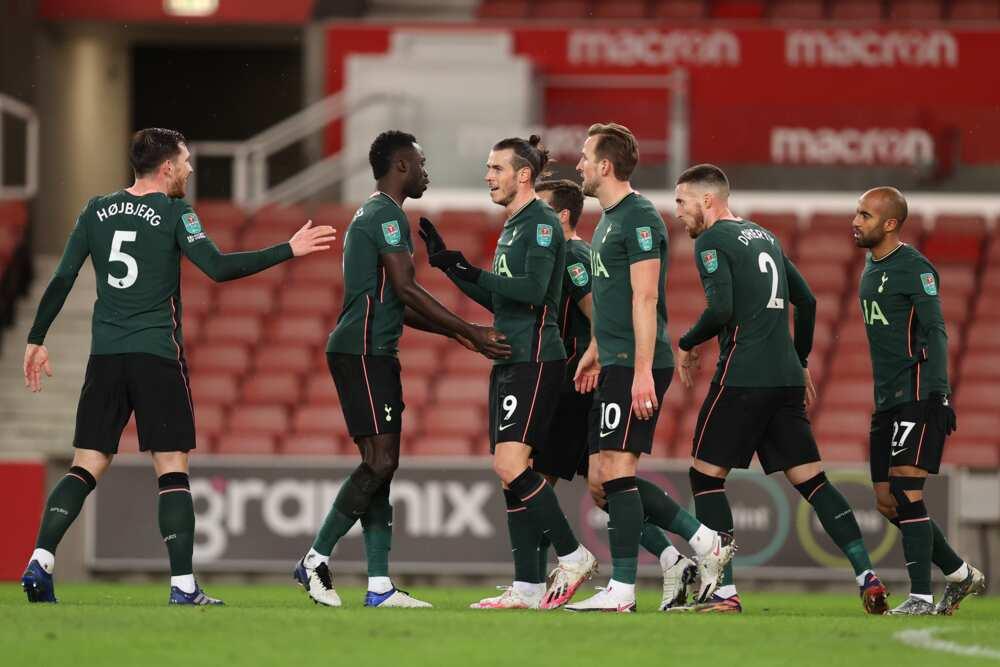 Stoke City vs Tottenham: Harry Kane scores as Spurs record 3-1 win in EFL Cup