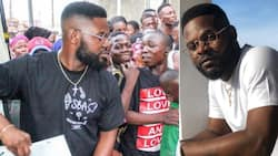 Singer Falz celebrated Christmas in unique way (photos)