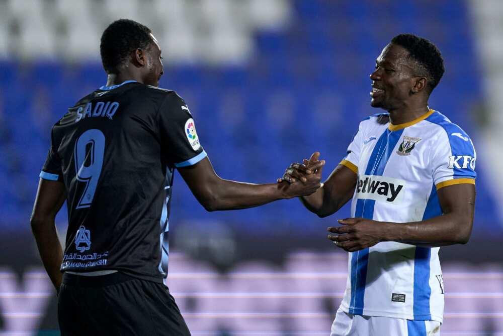 Jubilation As Nigerian Forward Scores Brace for Top Spanish Club in a Tough League Encounter