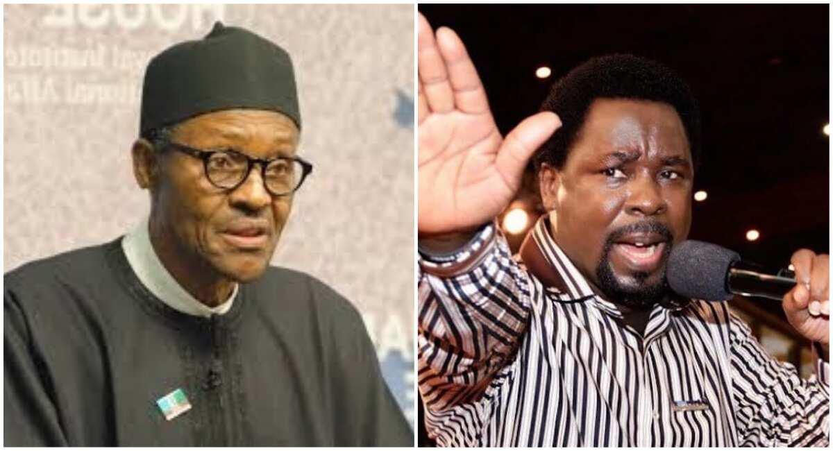 Pray for Buhari - TB Joshua tells Nigerians